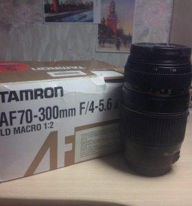 Объектив TAMRON AF 70-300mm