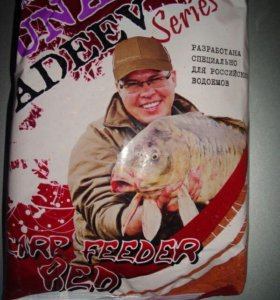 "Прикорм для рыбы ""DUNAEV-FADEEV"" Feeder Carp Red"