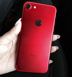 iPhone 7(product) red 128g