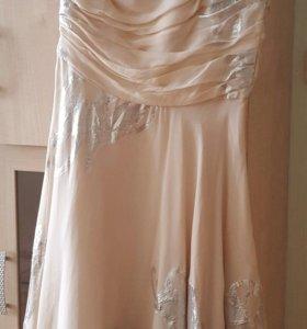 Новое шелковое платье BGN