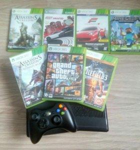 Приставка Xbox 360s 250gb