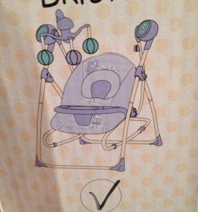 Качели электронные LUNA для малышей.Новые.!