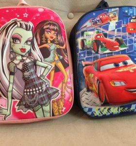 Детские рюкзаки 3D