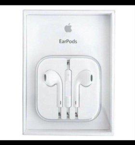 Наушники Apple EarPods c микрофоном и разъемом 3,5