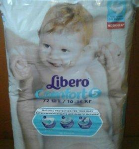 Подгузники Libero comfort 5 и др. подгузники