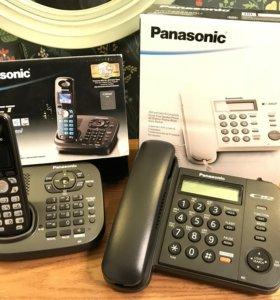 Panasonic Dect цветной экран + стац.аппарат
