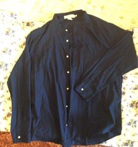 Рубашка с воротником стойкой(мао)