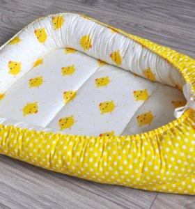Гнёздышко кокон для новорожденного
