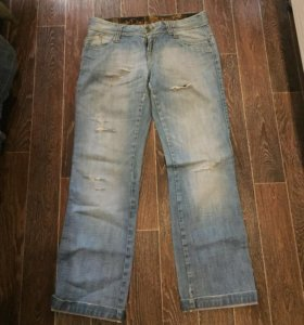 Рваные джинсы 48-50 размер