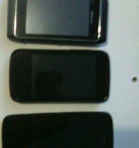 HTC desire 500. Fly iQ360. Nokia N8.