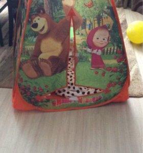 Детская домик-палатка
