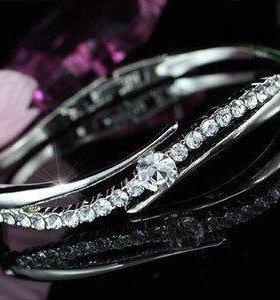 Браслет кристаллы Swarovski