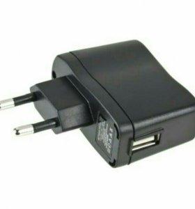 Адаптер в розетку с USB входом