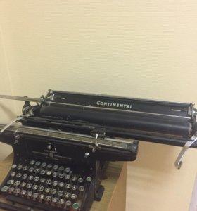 Немецкая довоенная печатная машинка CONTINENTAL