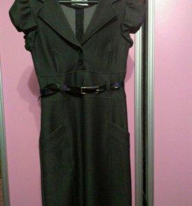 Платье ( одетое 3 раза)