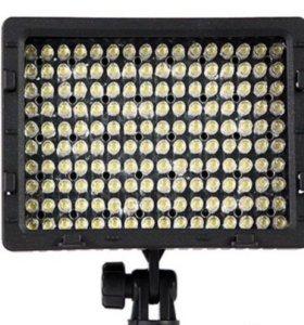 Накамерный свет CN-160 LED с регулировкой яркости