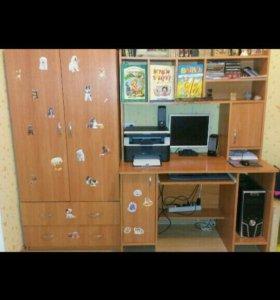 Компьютерный стол+шкаф