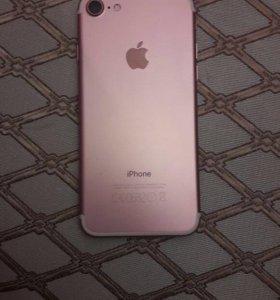 """iPhone 7 """"Розовое золото"""""""