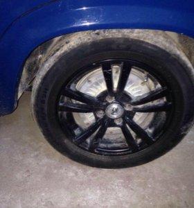 Литые диски 4 колеса