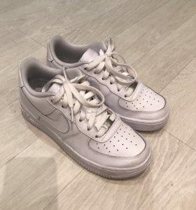 Кроссовки Nike Air Force 1 кожа