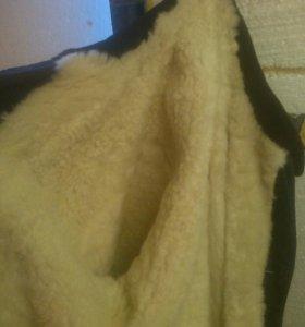 зимнее пальто(тулуп)