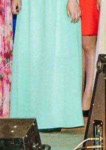 Платье длины макси