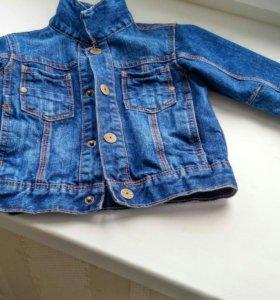 Джинсовая куртка next