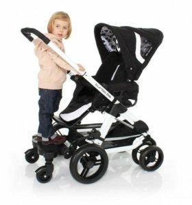 Подножка на коляску для второго ребёнка.