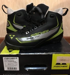 Лыжные ботинки 40-41р