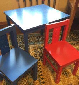 Стульчики и столик