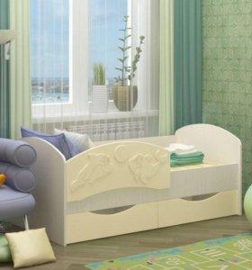 Детская кровать Дельфин-3