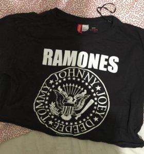 Короткая футболка Ramones