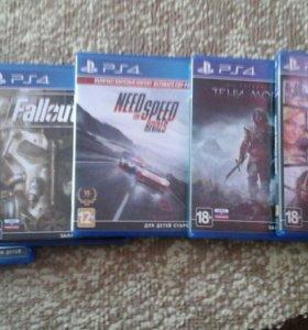 Продажа игр для игровой консоли PS4