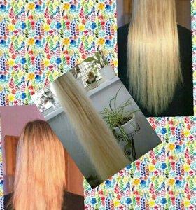 Итальянское капсульное наращивание +волосы