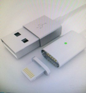 Магнитный кабель Android и iPhone