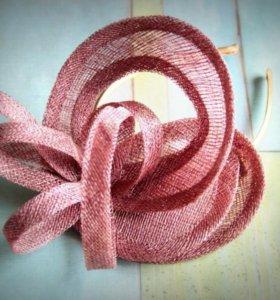 Шляпка / Вуалетка Чайная роза