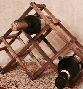 Интерьерная подставка под бутылки