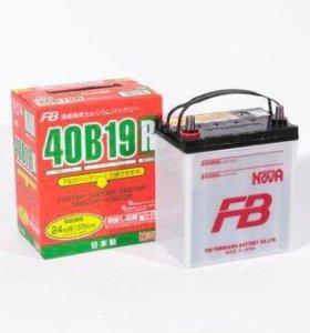 Аккумулятор автомобильный FB Япония 40B19L/R
