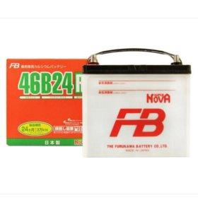 Аккумулятор автомобильный FB Япония 46B24R/L