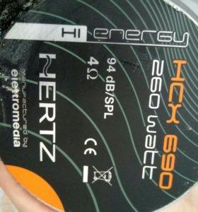 колонки Herz HCX 690 260WATT