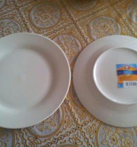 7новых тарелок за 150р