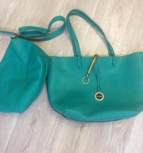 Комплект сумок Vitacci натуральная кожа (новые!)