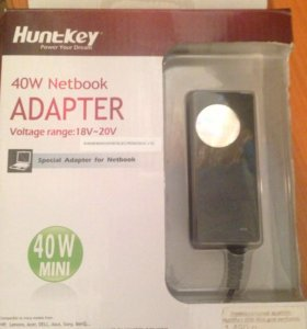 Универсальный адаптер Huntkey 40w Mini для нетбука