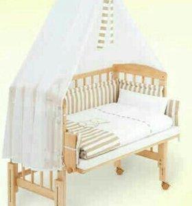 Приставная кроватка - колыбель