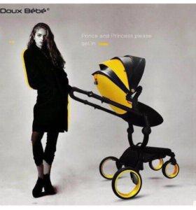 Новая коляска 2 в 1 Doux bebe