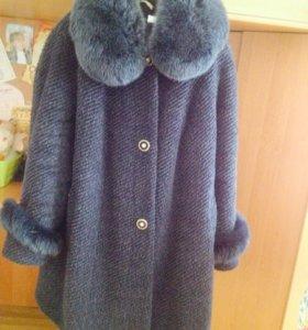 📣🚺Зимнее пальто натуральная шерсть+песец