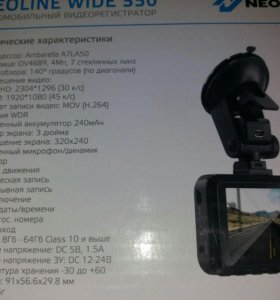 Новый Видеорегистратор neoline WIDE s50