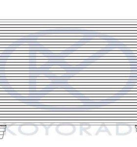 Subaru Impreza 07- конденсатор кондиционера