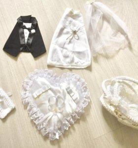 Аксессуары свадебные