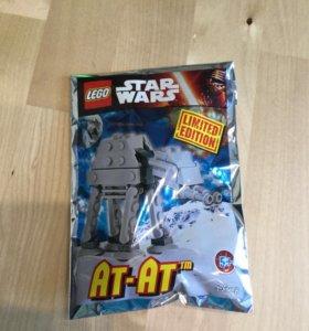 Лего звездные войны at at